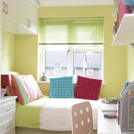 Пример дизайна маленькой спальни