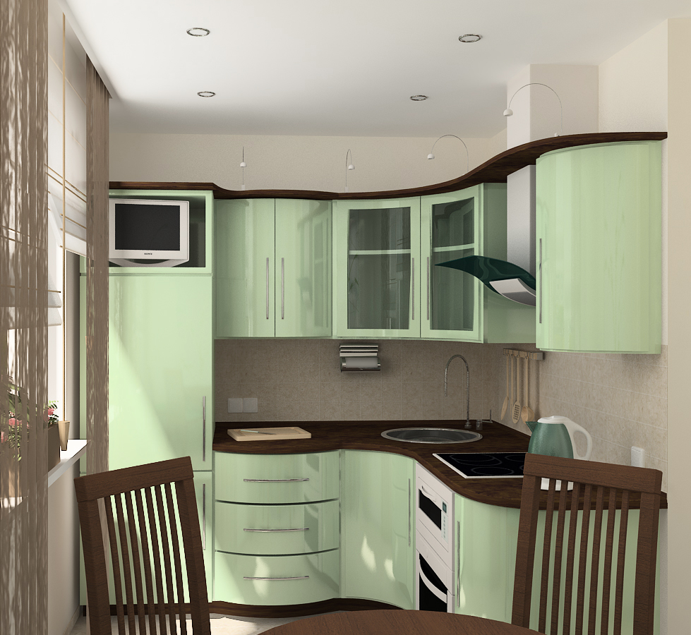 Кухни дизайн в хрущевках