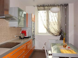 Тюль дизайн на кухню