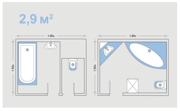 Пример того, как на минимальной площади сделать удобную обстановку