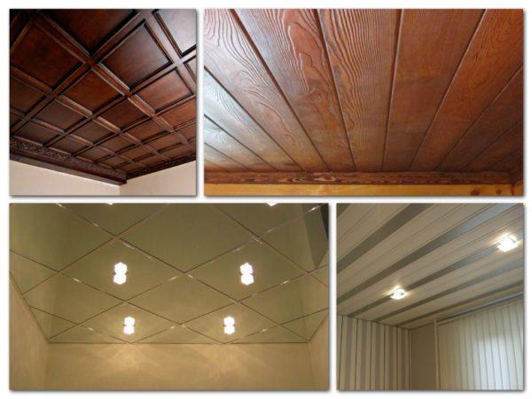 Простые примеры того, как с помощью доступных отделочных материалов можно украсить обычный потолок в типовой квартире