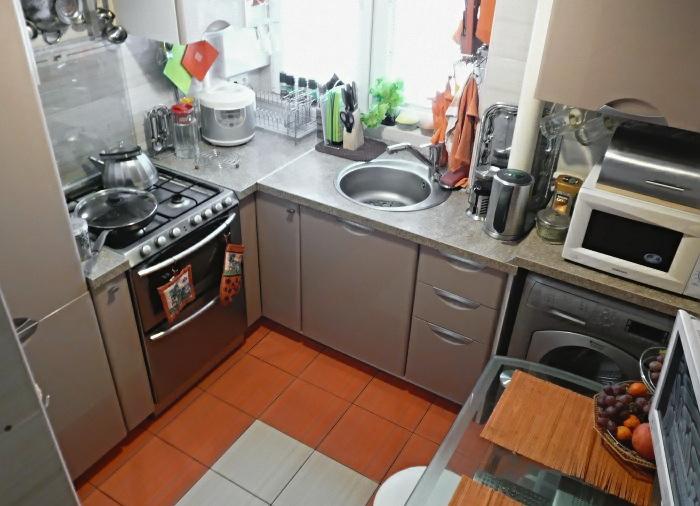 Дизайн для кухни 4 квадратных метра