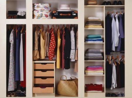 Размещение одежды по уровням