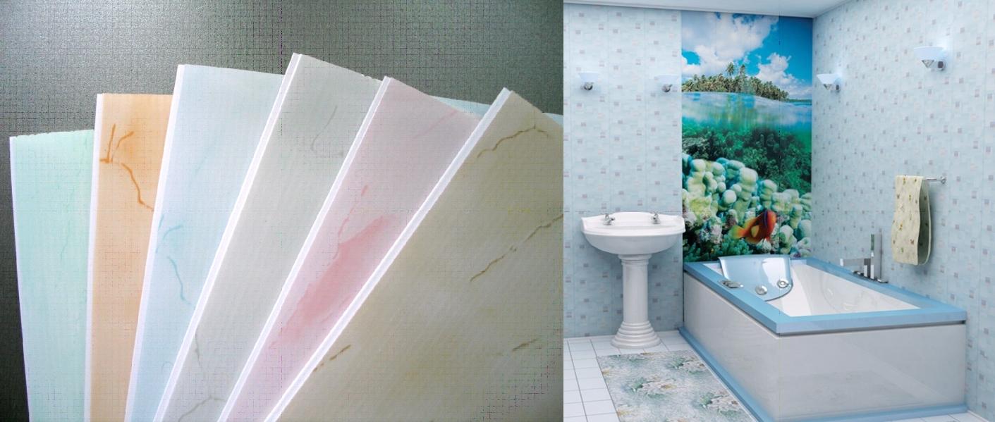 Пластик для ванной комнаты своими руками