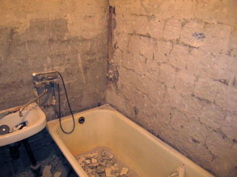 Ремонт ванны своими руками для начинающих фото