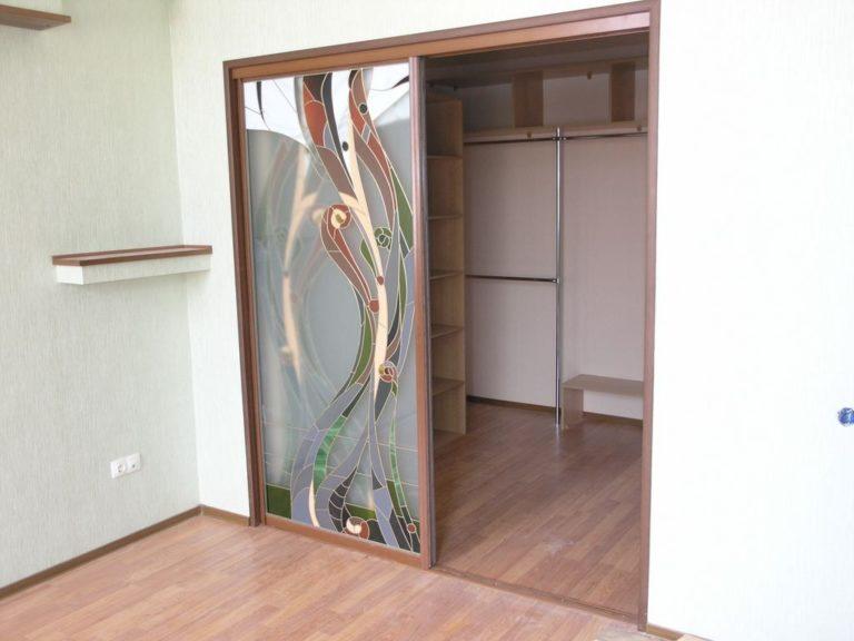 Раздвижные двери своими руками в нишу 33