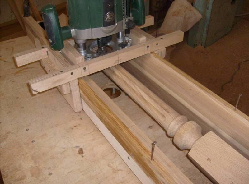 Изготовление балясин из дерева своими руками