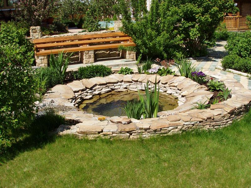 Сад огород ландшафтный дизайн от