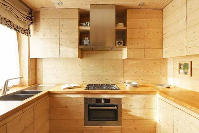Кухонные гарнитуры из фанеры