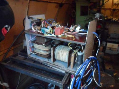 Сварочный аппарат своими руками изготовление
