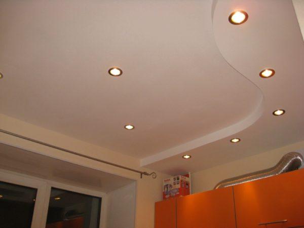 Сделать такой потолок по силам каждому домашнему мастеру