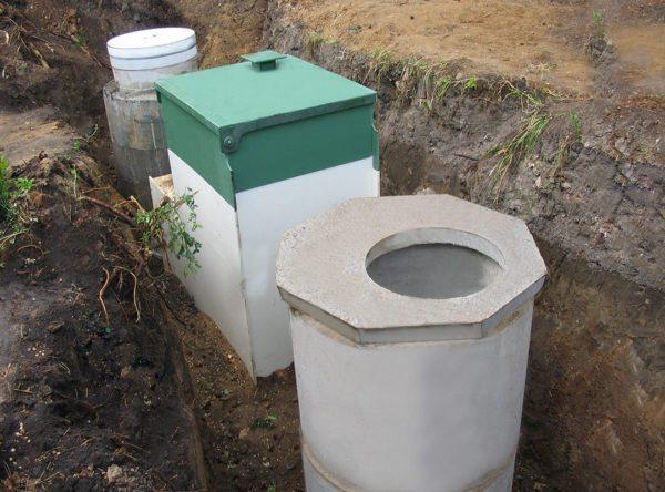 Схема подключения канализации в частном доме