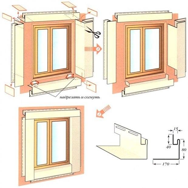 Как обшить окна в деревянном доме своими руками
