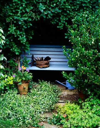 скамейка огородника