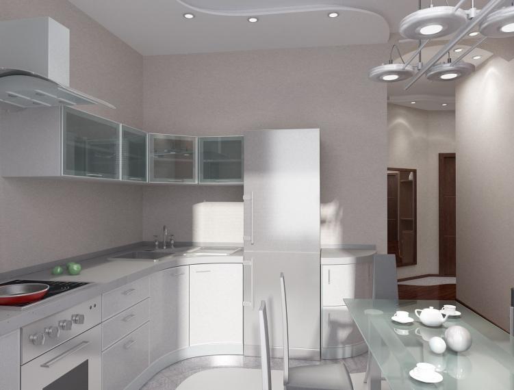создать интерьер кухни