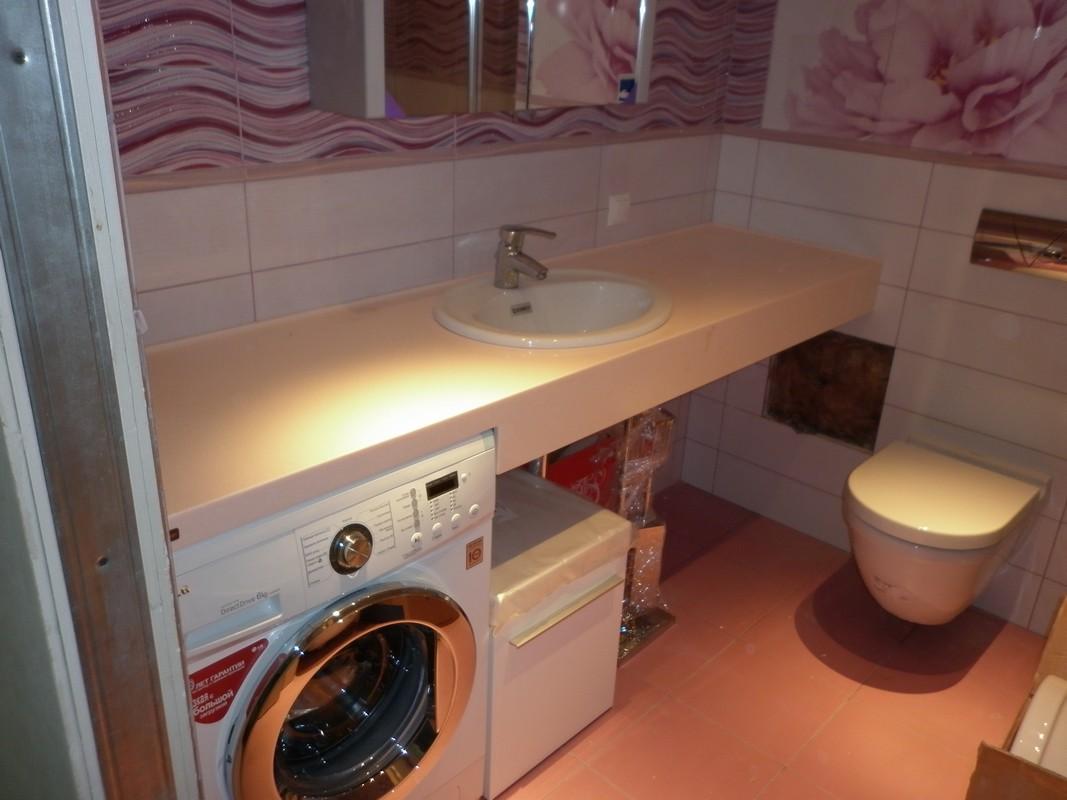 Столешница в ванную из гипсокартона цена столешница под подоконником на кухне