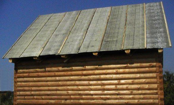 Как покрыть крышу сарая рубероидом