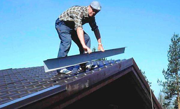Крыша из профнастила своими руками: видеоинструкция 19