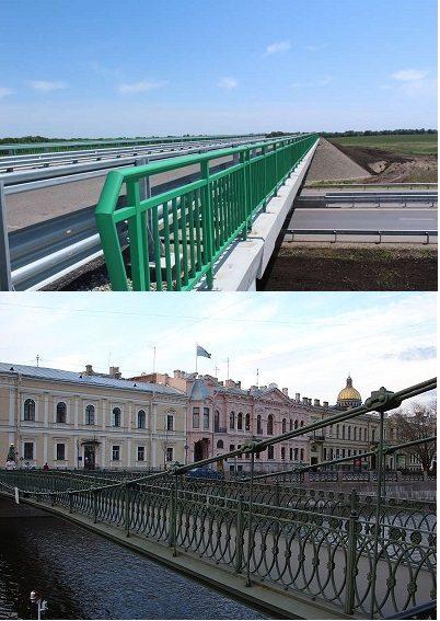 Такие разные мостовые балюстрады