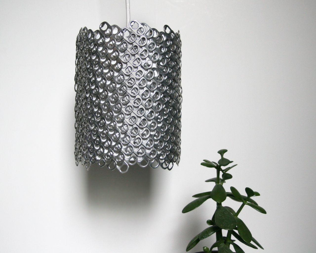 Светильник из алюминиевой банки своими руками