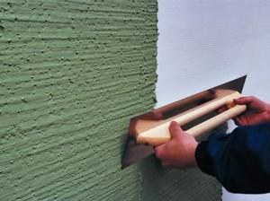 Короед штукатурка: технология нанесения декоративного покрытия своими руками