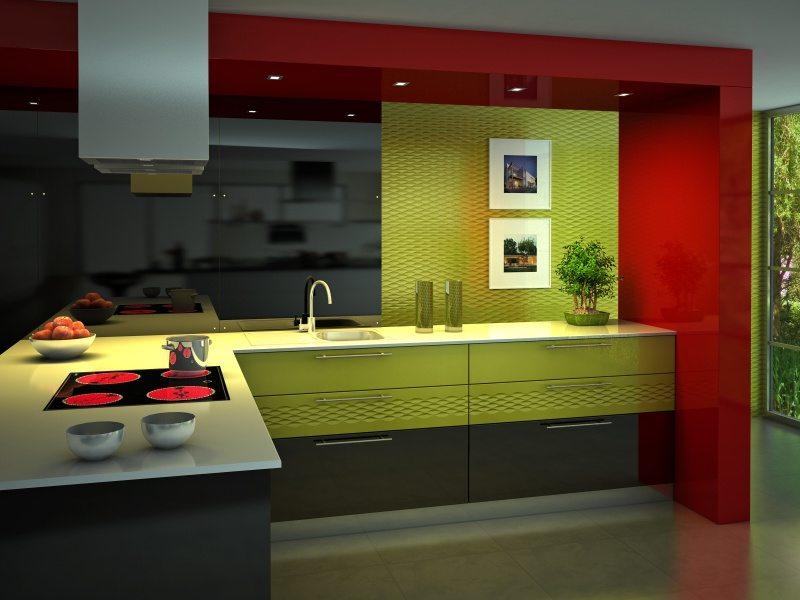 Кухня модерн дизайн