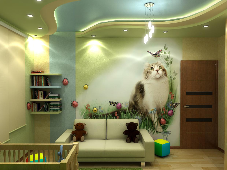 Требования к интерьеру детской комнаты