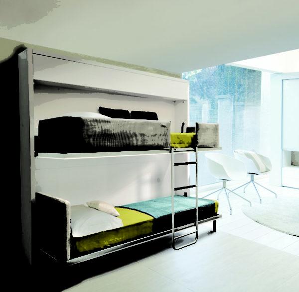 Удобное двойное спальное место.