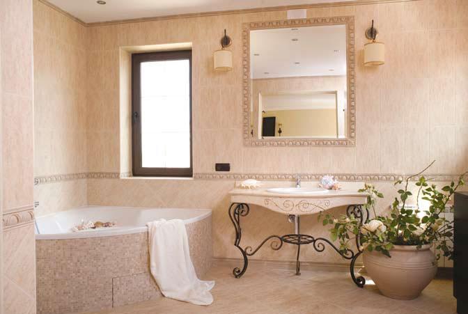 Интерьеры ванной 4 м