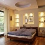 Уникальные дизайнерские находки из гипсокартона в вашей спальне