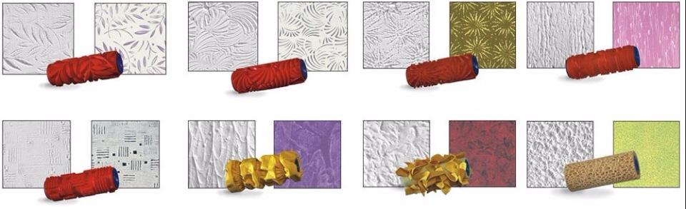 Изготовление текстурного валика своими руками