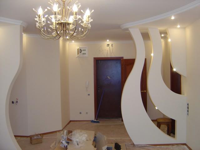 Вариант декоративной конструкции