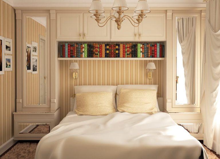 Дизайн узкой спальни фото 2015 современные идеи