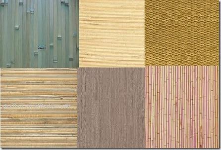 Фактура бамбукового покрытия