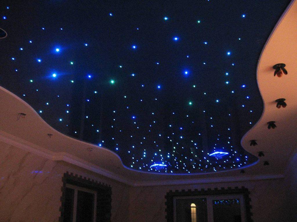 Звездный потолок своими руками