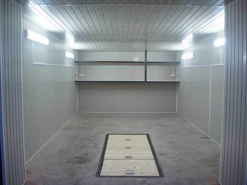 фото гаражей внутри отделка