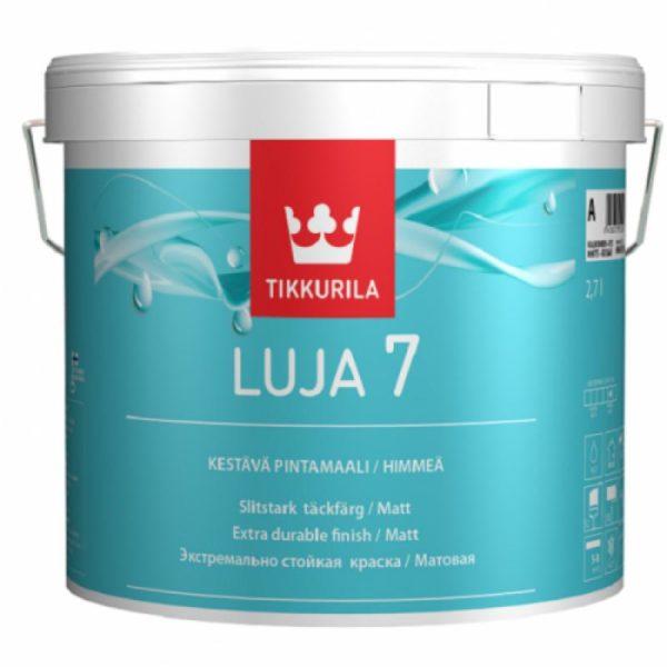 Водостойкая краска Tikkurila Luja специально предназначена для экстремальных условий эксплуатации
