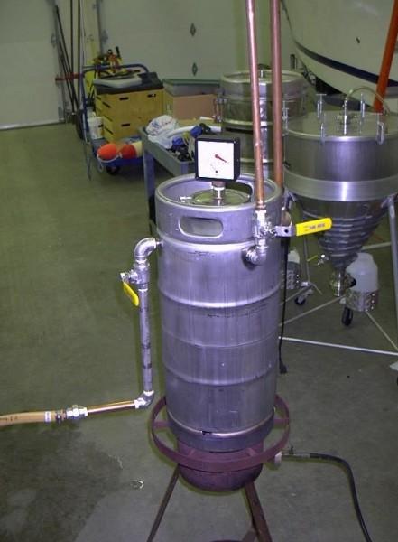 Вот так может выглядеть парогенератор для сауны своими руками
