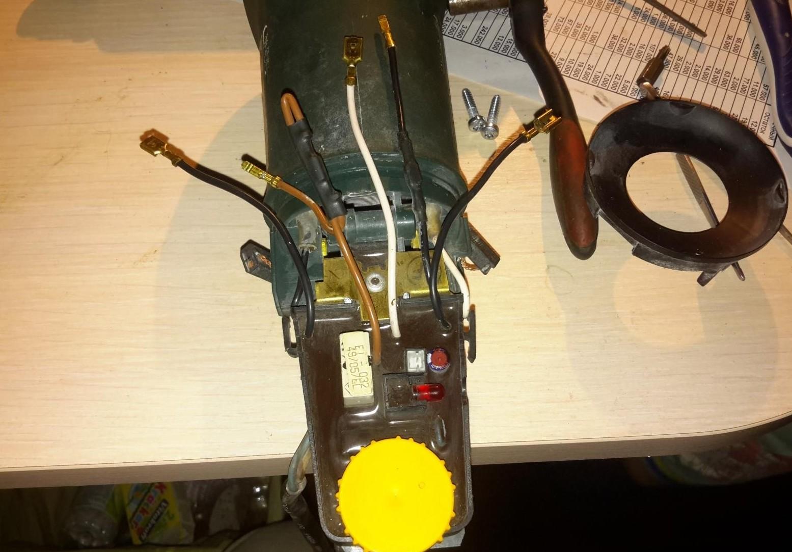 Вот так выглядит регулятор мощности, если разобрать устройство