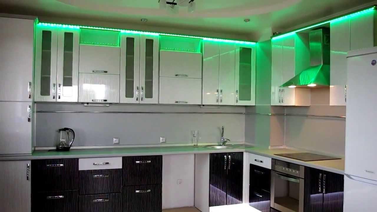 Как сделать подсветку светодиодную подсветку кухни
