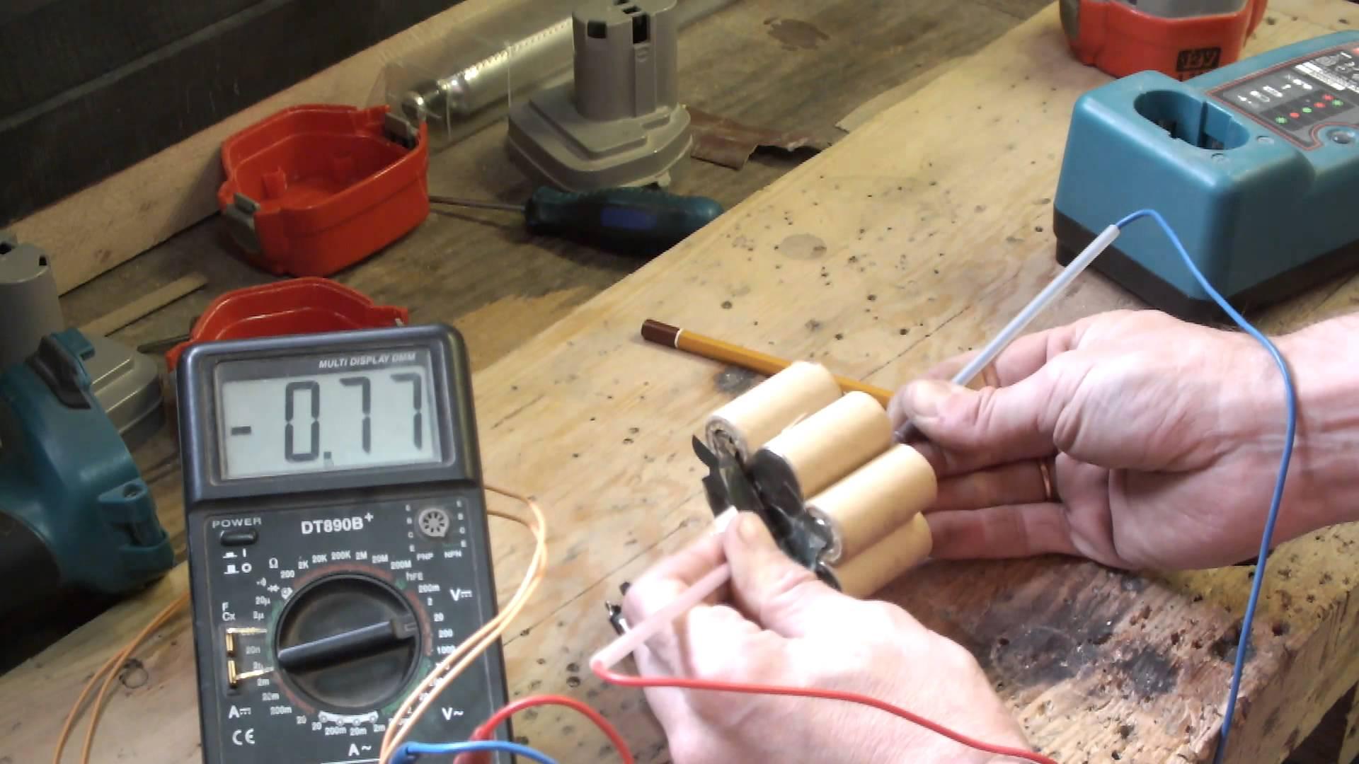 Ремонт аккумуляторов для шуруповерта макита своими руками