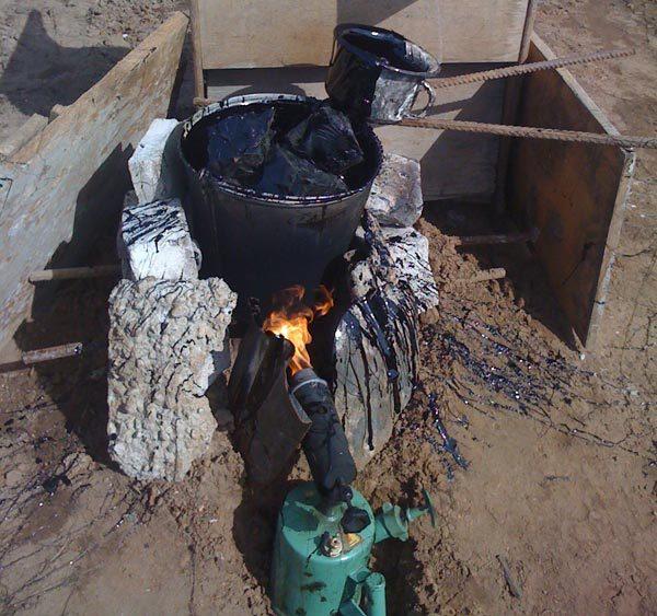 Устройство кессона для погреба