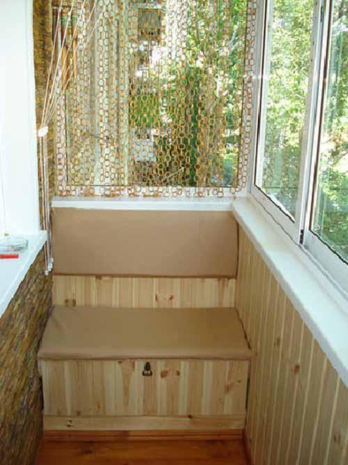 Шкаф на балкон в хрущевке своими руками