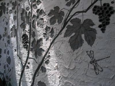 Сграффито – художественная штукатурка