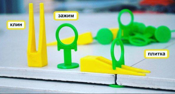 3d крестики для плитки позволяют создать максимально ровное покрытие даже при отсутствии соответствующих профессиональных навыков