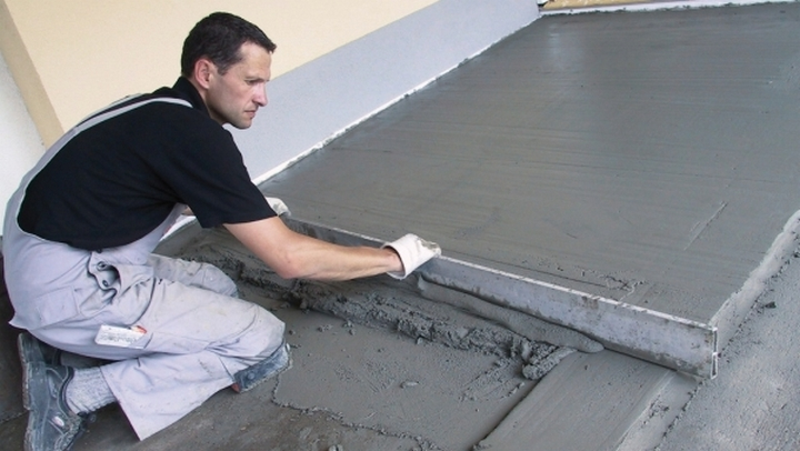 виды железнения бетонной стяжки