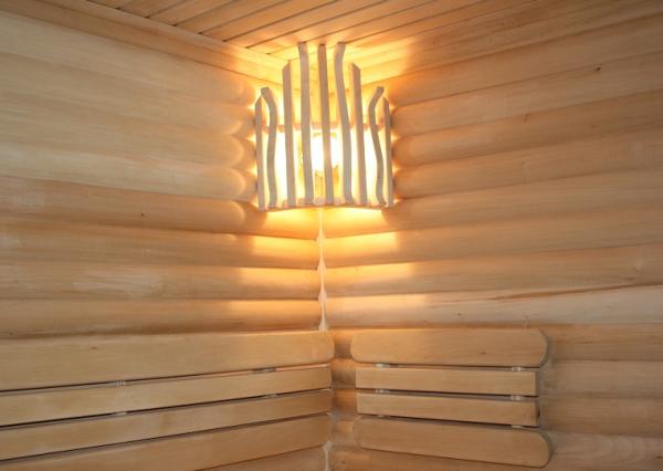 Абажур из дерева для осветительного прибора