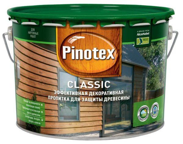 Антисептическая пропитка помогает сохранять древесину