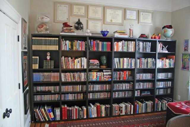 Библиотека в георгианском дизайне