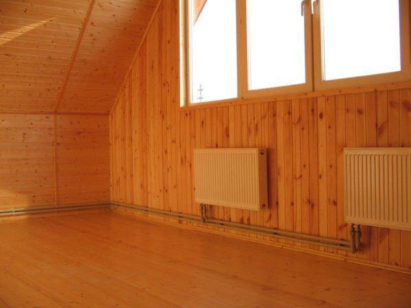 Благодаря хорошему утеплению отопление дома не станет разорительным.